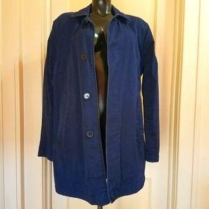 American Apparel Blue Twill Jacket